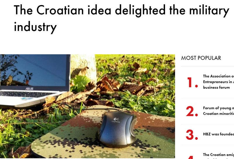 Croatian innovation delighted the military industry