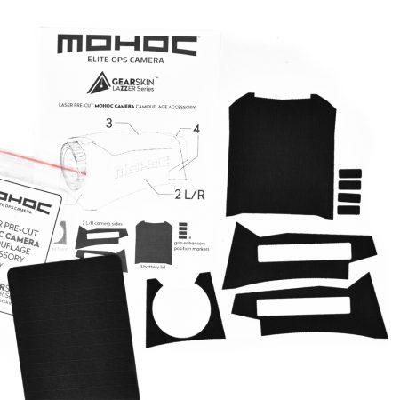 Mohoc camera Black precut skin