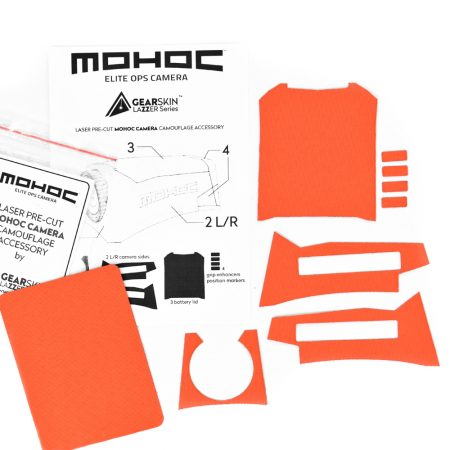 Mohoc camera Bright Orange precut skin