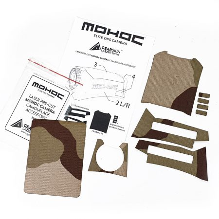 Mohoc camera Desert 3 Color precut skin