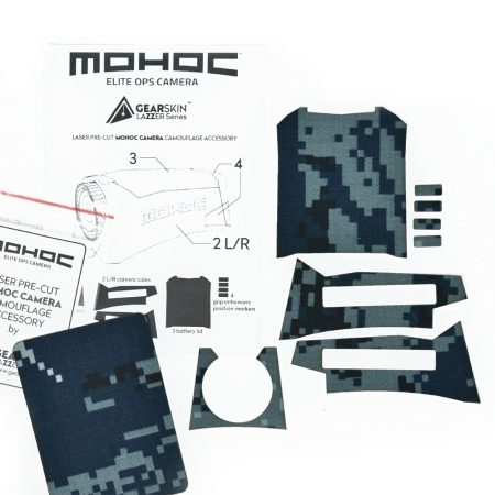 Mohoc camera Digital Navy precut skin