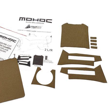 Mohoc camera Khaki/Coyote Tan precut skin