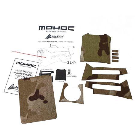 Mohoc camera Multicam® Arid precut skin