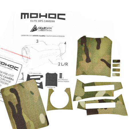 Mohoc camera Multicam® Original precut skin