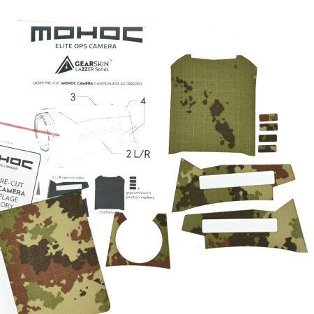 Mohoc camera Mimetico Vegetato precut skin