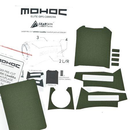 Mohoc camera Olive precut skin