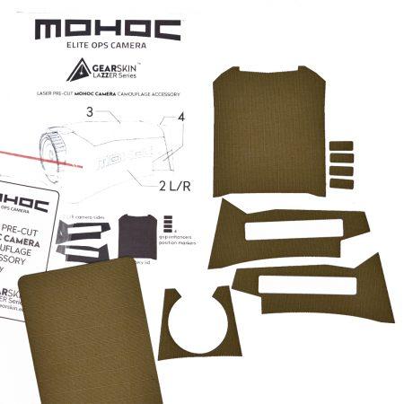 Mohoc camera Ranger Green precut skin