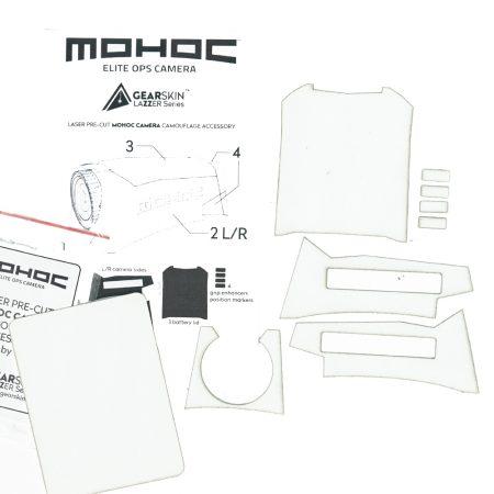 Mohoc camera White precut skin