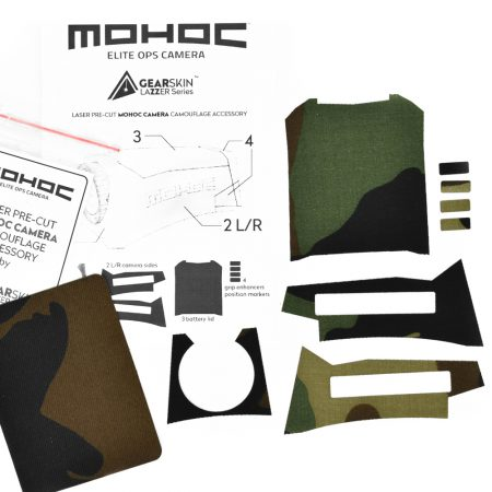 Mohoc camera Woodland precut skin